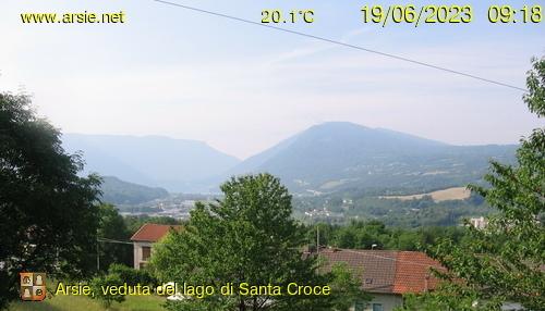 WeWebcam Blick zum Lago di St.Croce